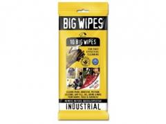 BIG WIPES INDUSTRIAL SACHETS 10 STK